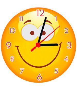 25х25 см, Скляний настінний годинник, 77867