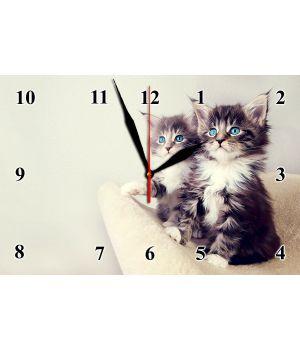 20х30 см, Скляний настінний годинник, 77838