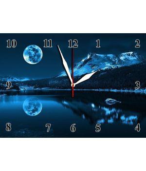 25х35 см, Стеклянные часы настенные, 77948