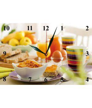 20х30 см, Скляний настінний годинник, 77819