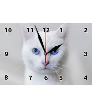 20х30 см, Стеклянные часы настенные, 77839