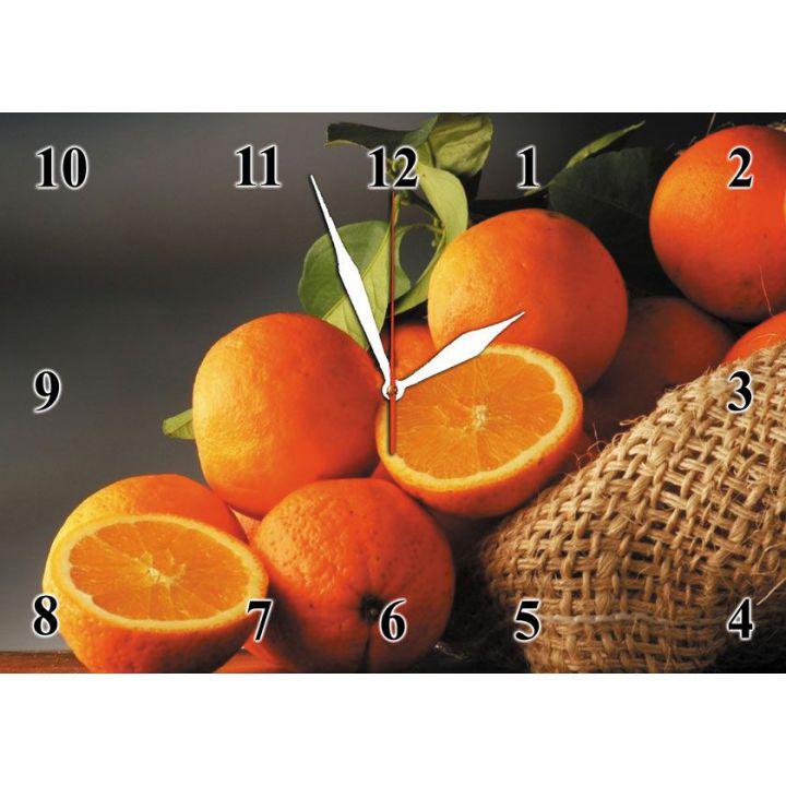 25х35 см, Стеклянные часы настенные, 77969