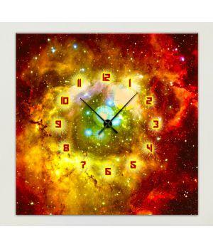 Часы-картина 1C-246-45x45-W