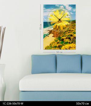 Часы-картина 1C-226-50x70-W