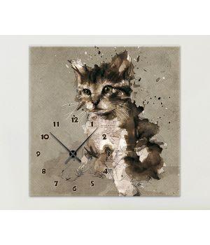 Часы-картина 1C-66-60x60-W