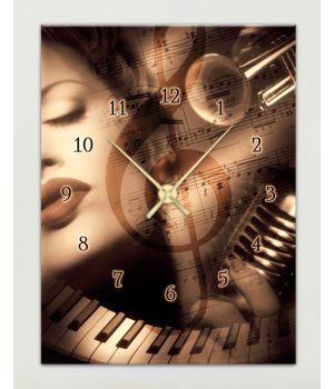 Модульные часы 1C-141-30x40-W