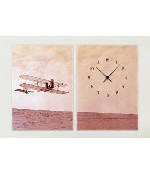 Модульные часы 1C-159-2p-W