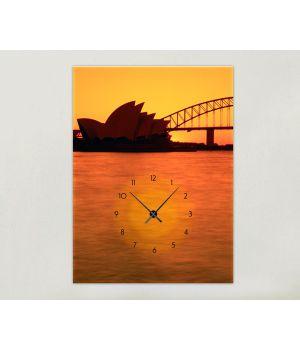 Часы-картина 1C-5-50x70-W