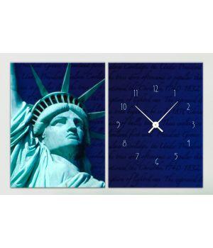 Модульные часы 1C-119-2p-W