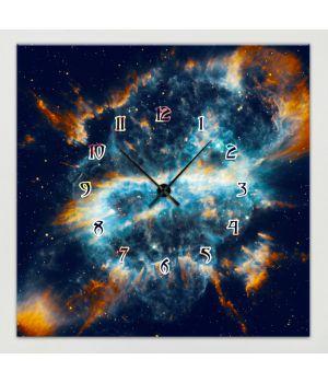 Часы-картина 1C-245-45x45-W