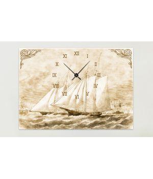 Часы-картина 1C-9-70x50-W