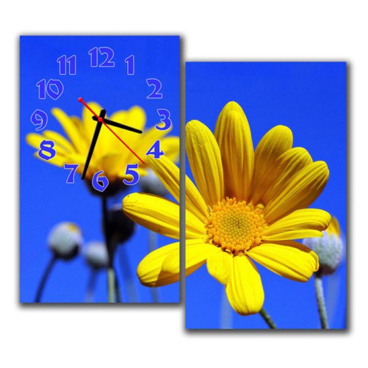 Модульные настенные часы Весеннее настроение