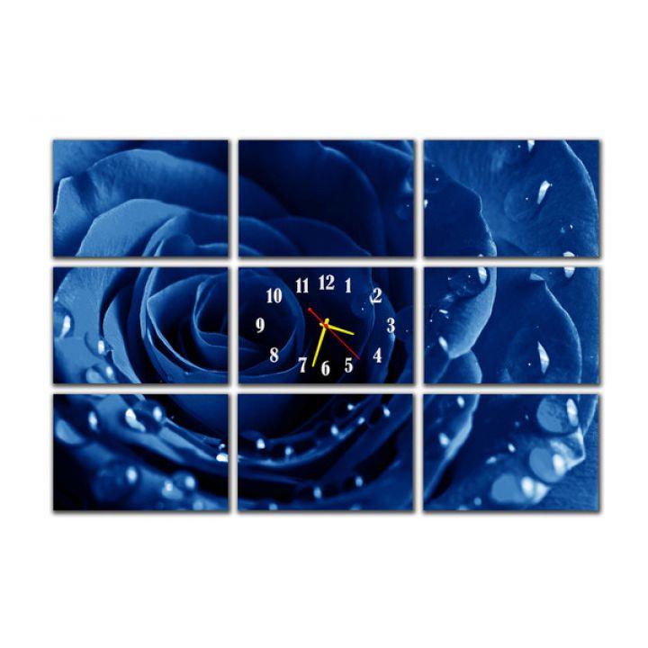 Модульные настенные часы Роза