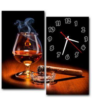 Модульний настінний годинник Усамітнення
