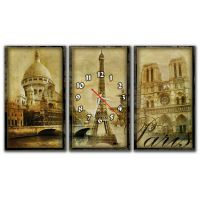 Модульные настенные часы Paris