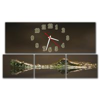 Модульные настенные часы Крокодил M39
