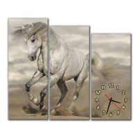 Модульные настенные часы Лошадь