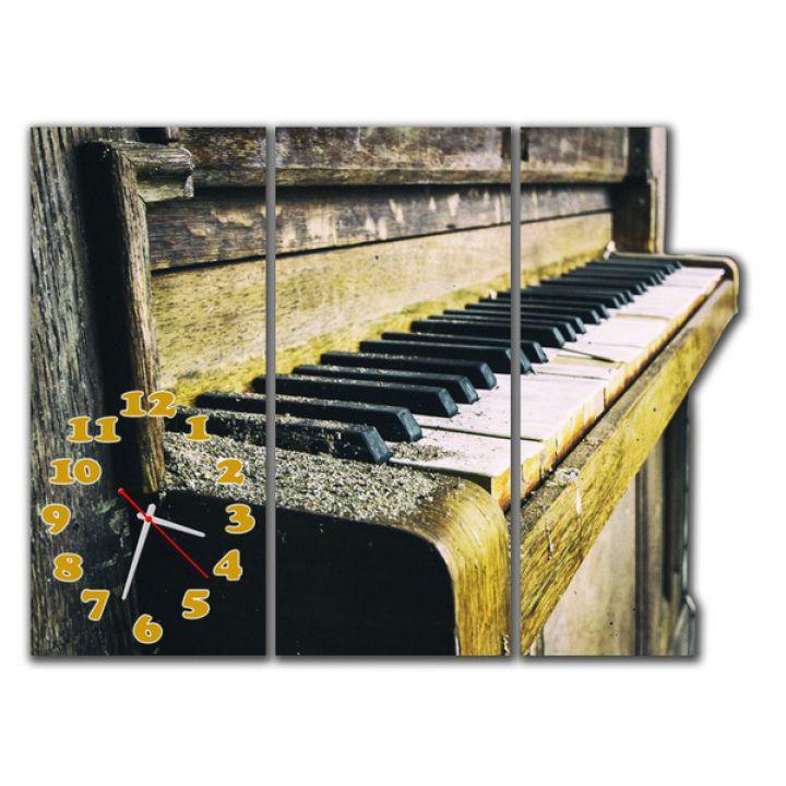 Модульные часы Ретро пианино