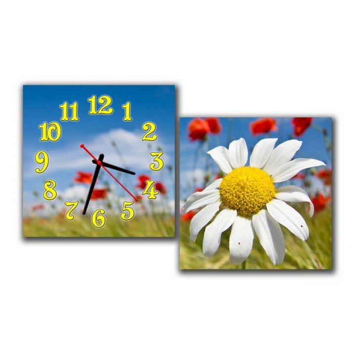 Модульные часы Солнечная Ромашка