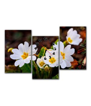Модульные настенные часы Дыхание весны