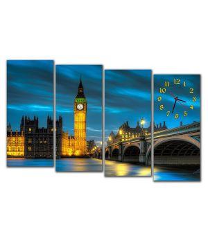 Модульные настенные часы Лондон