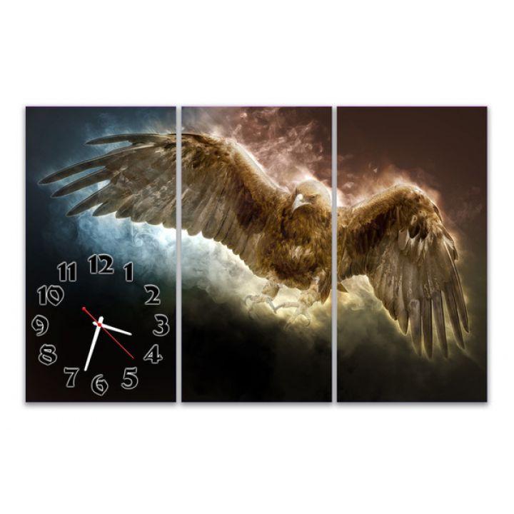 Модульные настенные часы Ястреб