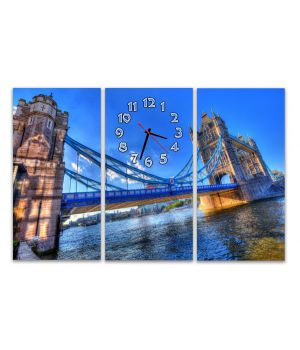 Модульные настенные часы Лондонский мост