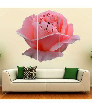 Модульные настенные часы Пленительная роза
