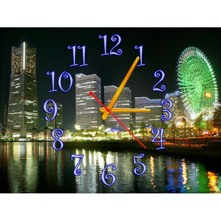 Часы Мегаполис, 30х40 см