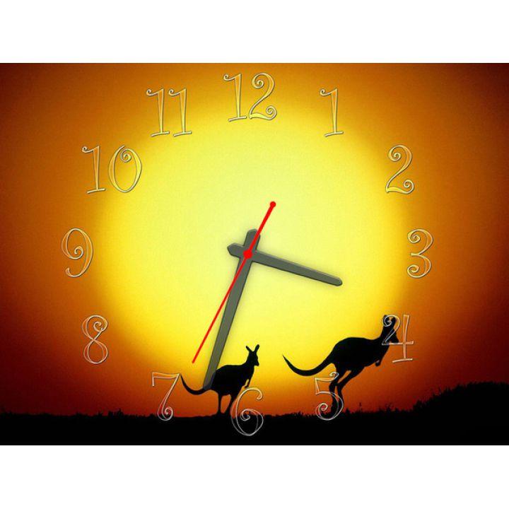 Часы Кенгуру, 30х40 см