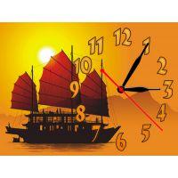 Часы Корабль Мечты, 30х40 см