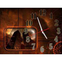 Часы Массивные Строения, 30х40 см