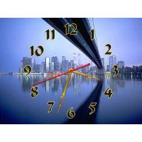 Часы Эффектная Панорама, 30х40 см