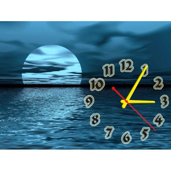 Часы Лунная Мелодия, 30х40 см