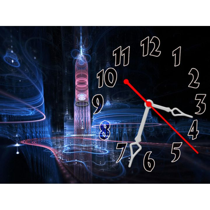 Часы Озаряемый Светом, 30х40 см