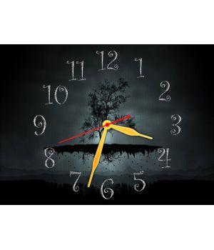 Часы Невесомый Островок, 30х40 см