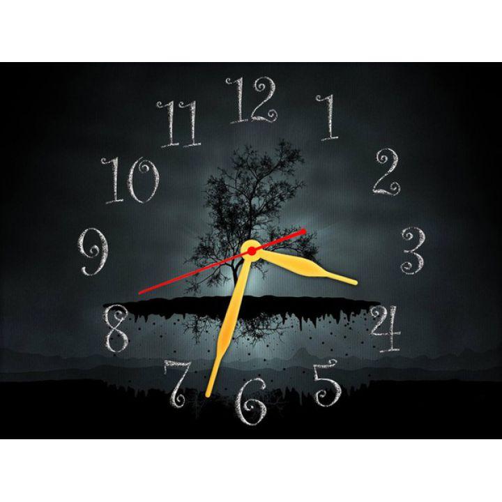 Настінний годинник Невагомий Острівець, 30х40 см