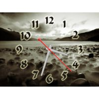 Часы Предгрозовое Небо, 30х40 см
