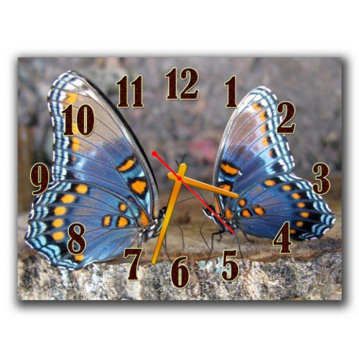 Часы Две Бабочки, 30х40 см