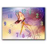 Часы Дивная Природа, 30х40 см