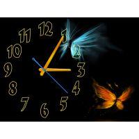 Годинник Ніжні метелики, 30х40 см