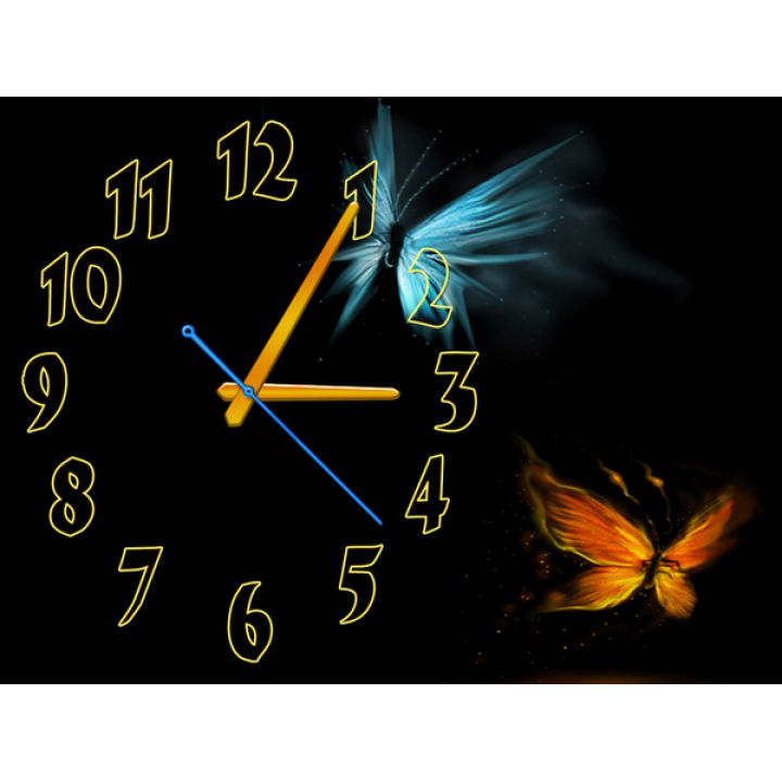 Часы Излучающие Свет, 30х40 см