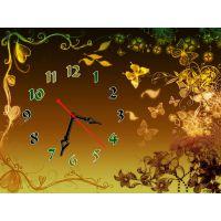 Часы Золотые Краски, 30х40 см