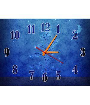Часы Волшебная Ночь, 30х40 см
