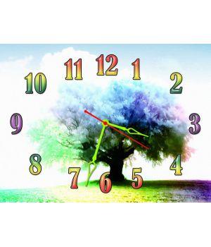 Часы Радужное Дерево