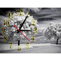 Часы Очарование Зимы, 30х40 см