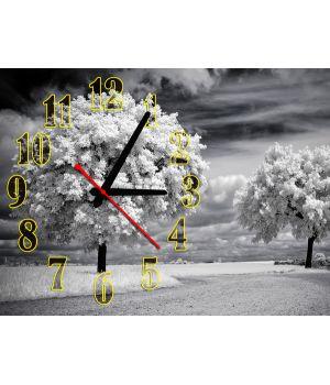 Часы Очарование Зимы