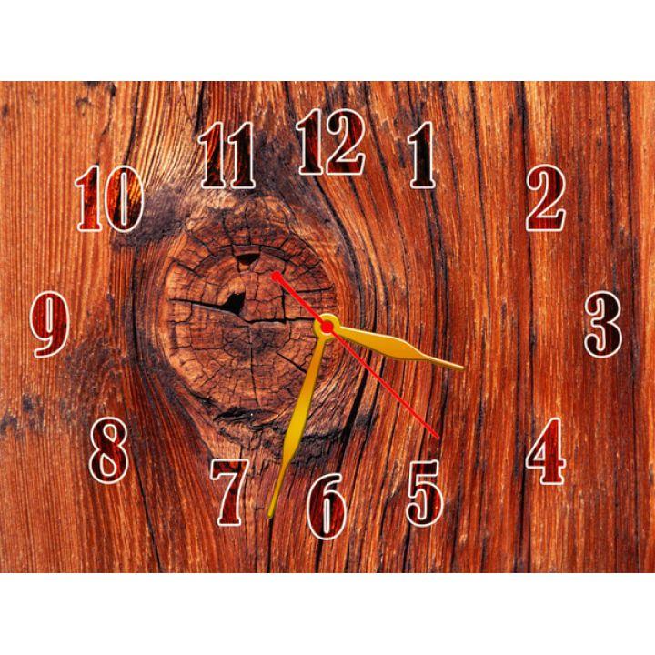 Часы Кора Дерева, 30х40 см