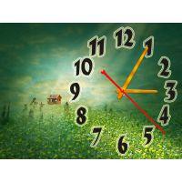 Годинник Хатинка на Узліссі, 30х40 см