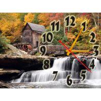 Годинник на стіну Водоспад, 30х40 см